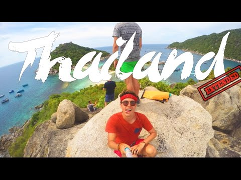 THAILAND TRAVEL ADVENTURE | GOPRO HERO 4 | extended