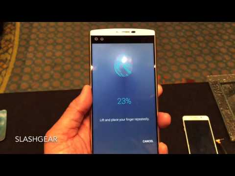 LG V10 Fingerprint scanner hands on