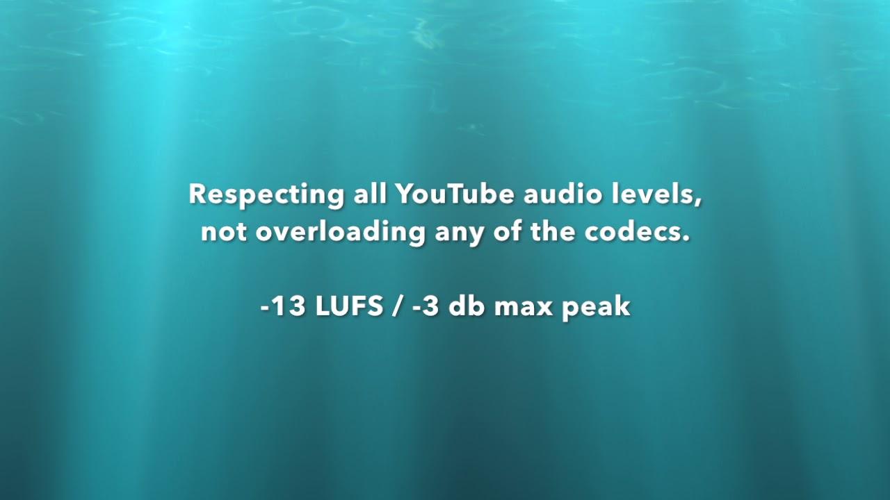 Maximising Audio Levels for YouTube – Loudness Without Braking the