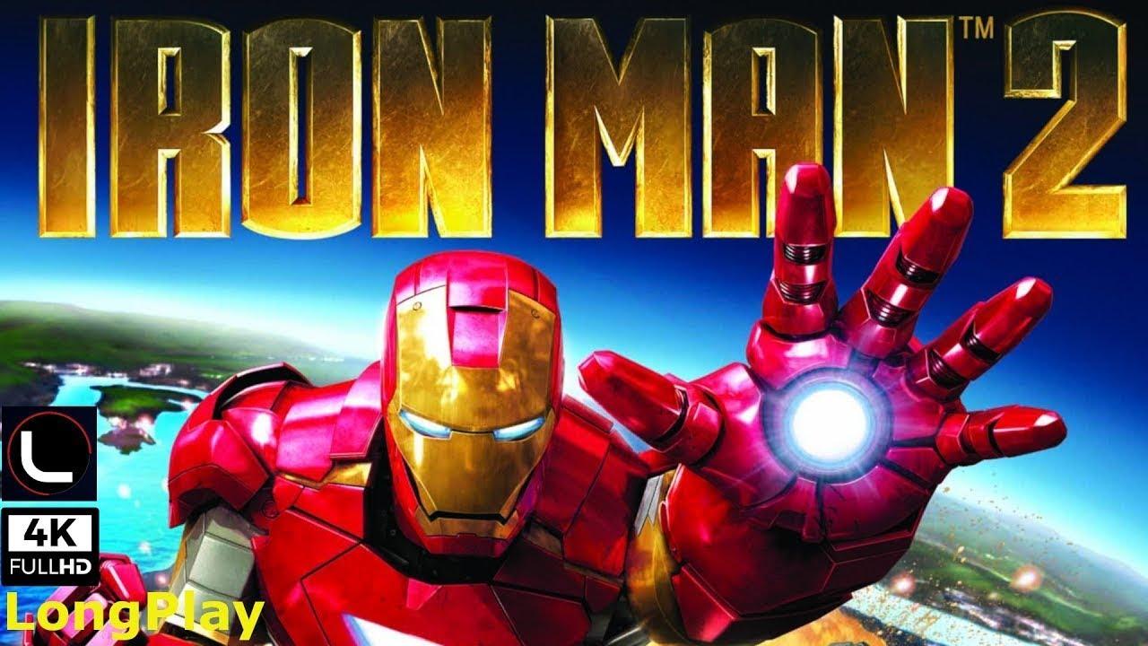 PSP – Iron Man 2 – LongPlay [4K:60FPS]🔴