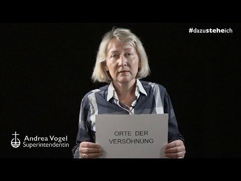 """#dazusteheich - Superintendentin Andrea Vogel über """"Orte der Versöhnung"""""""