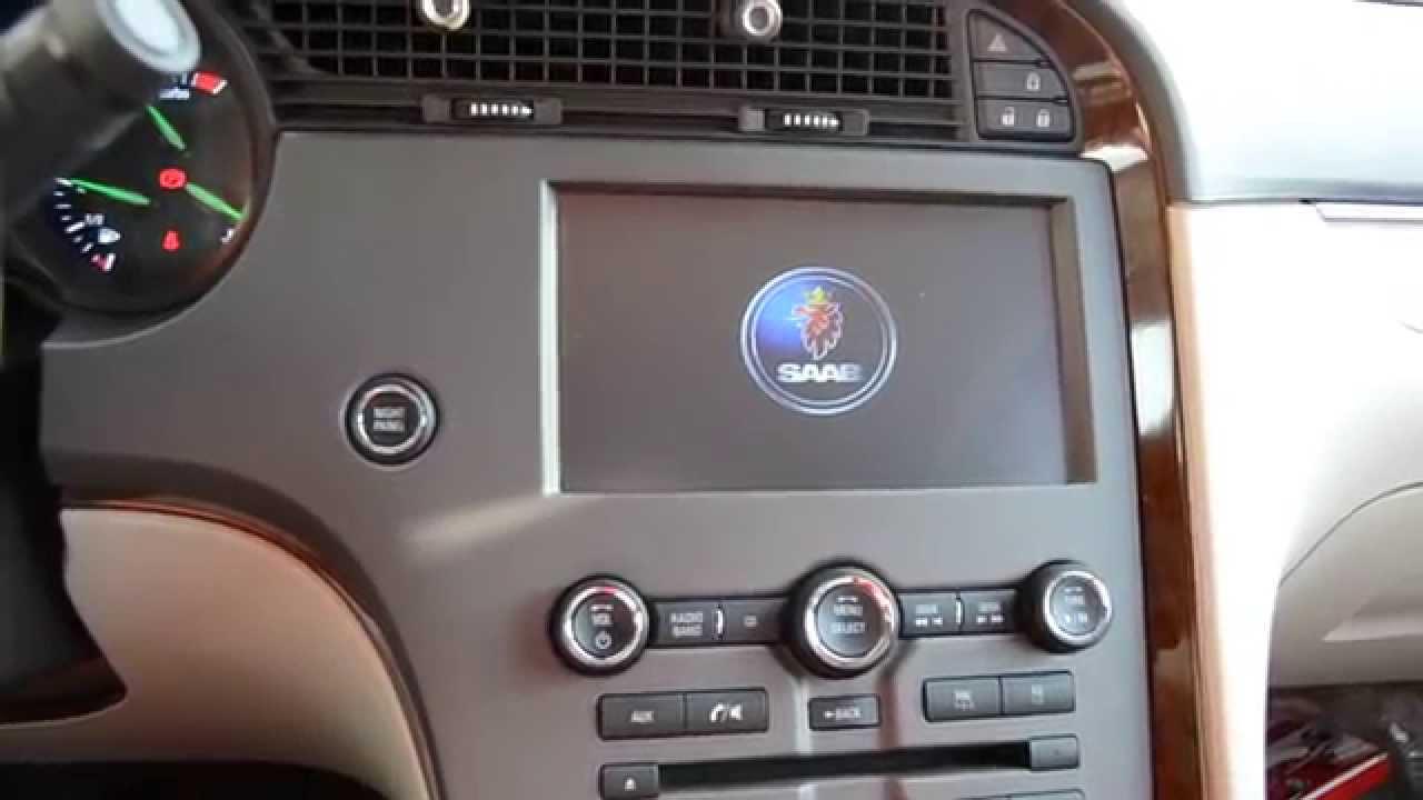 roadnav s100 aftermarket navigation in saab 9 5 2011 youtube rh youtube com saab 9-5 navigation manual Saab 9-5 Vacuum Hose Diagram