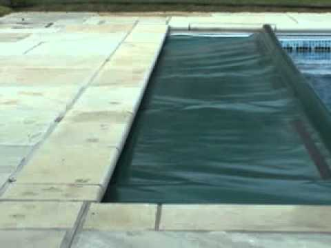 Autosafe Under Coping Automatic Pool Cover Youtube