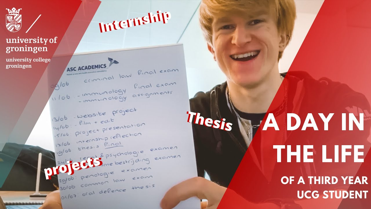 University College Groningen - A day in the life of a UCG student