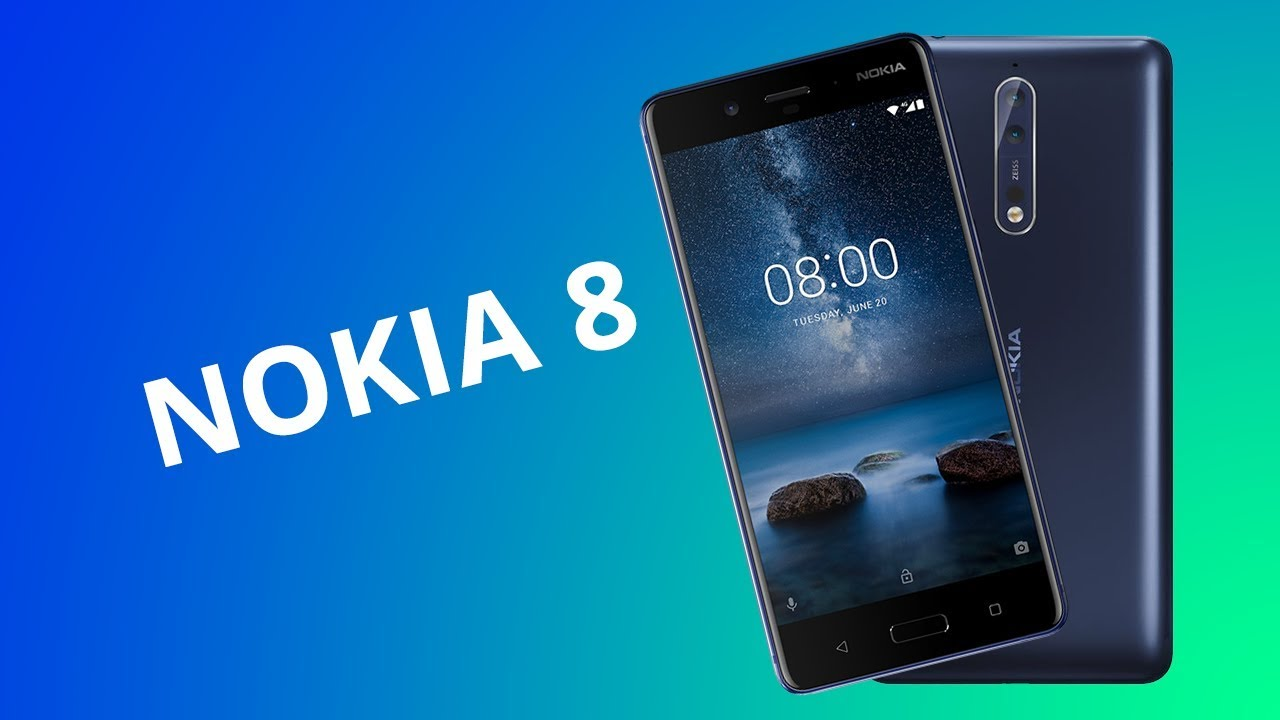 Nokia 8 [Análise / Review] - YouTube