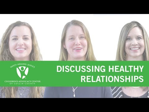 Discussing Healthy Relationships