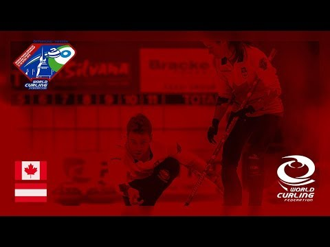Canada v Austria - Round-robin - World Mixed Doubles Curling Championship 2018