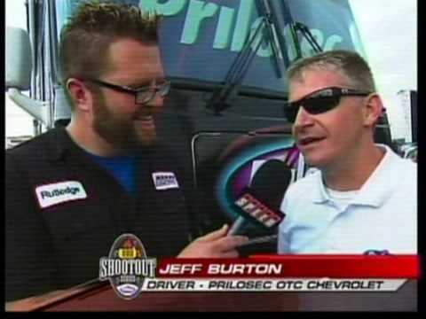 Rutledge Wood and Jeff Burton BBQ Shootout Richmond 2009