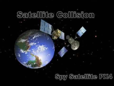 Recent Russian Satellite Collision Video From China Spy Satellite - Recent satellite images