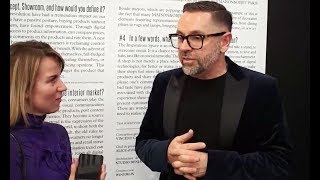 Интервью с Vincent Gregoire (Nelly Rodi) на Maison&Objet 2018
