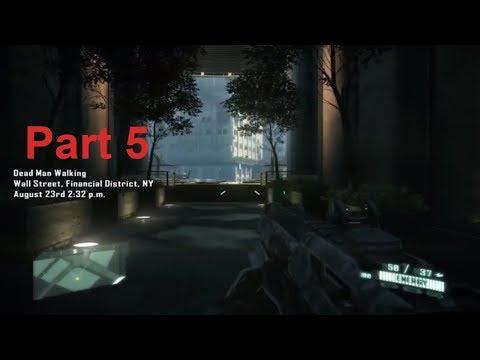 Crysis 2 part 5 Game play , walkthrough crysis 2 gameplay montage let's play upc