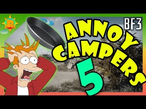 ☼ Battlefield 3 - How to Annoy Campers #5