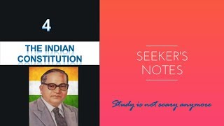 The Indian Constitution -The Drafting Committee , Preamble -Indian Polity 04.