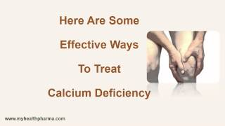 How To Treat Calcium Deficiency ?
