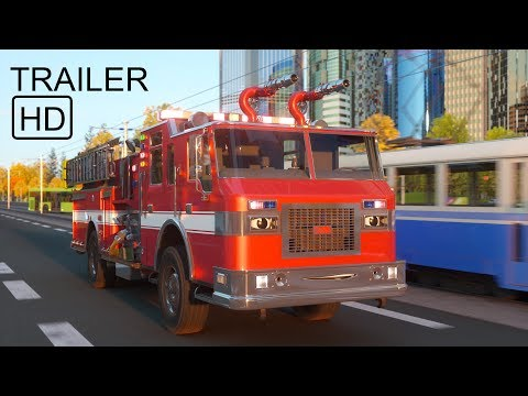Thumbnail: William Watermore the Fire Truck - Teaser - Real City Heroes (RCH) | Videos For Children