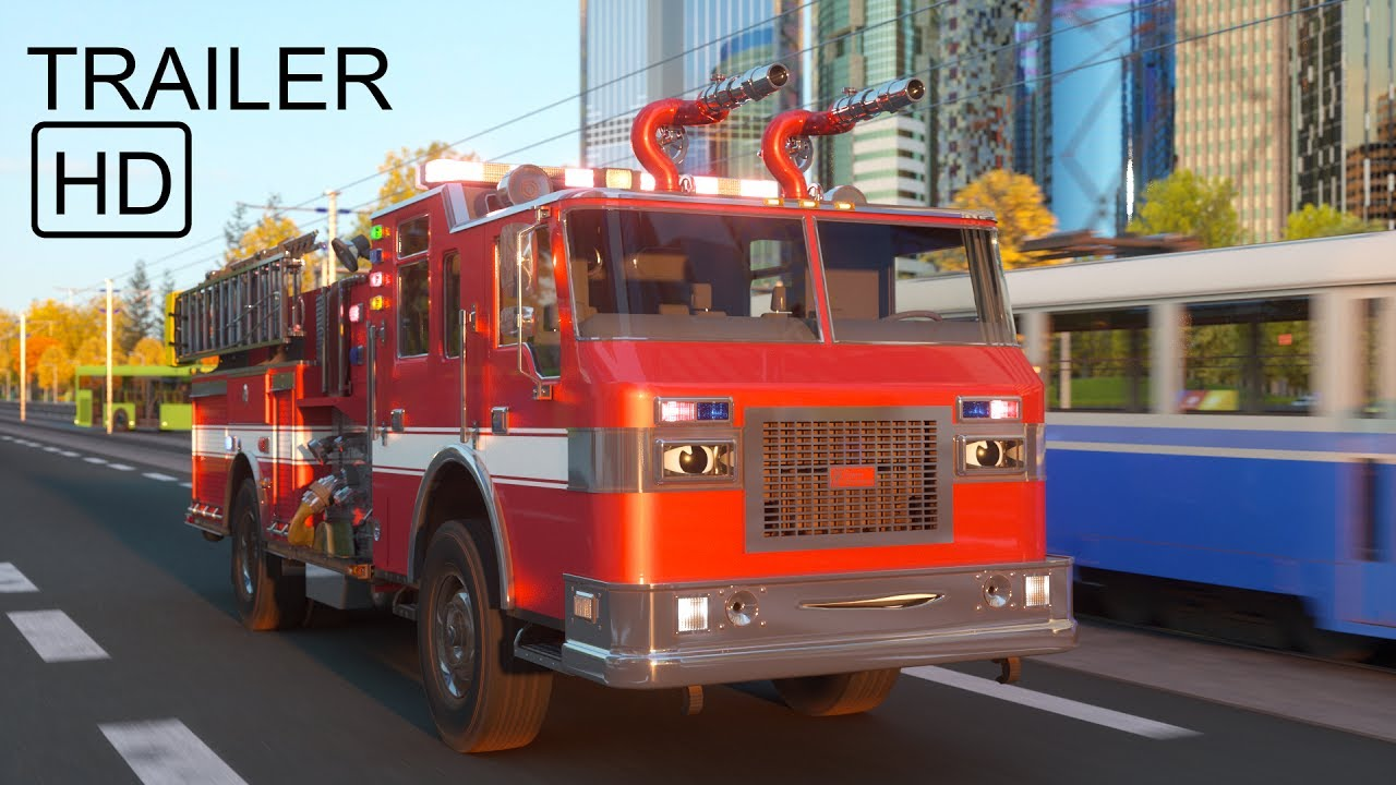 Meet William Watermore the Fire Truck - Trailer -  Real City Heroes (RCH)