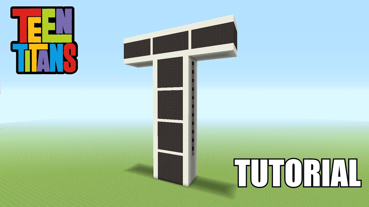Teen Titans Tower Minecraft Build