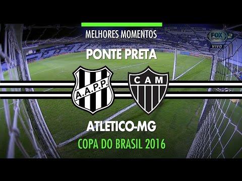 Melhores Momentos - Ponte Preta 2 x 2 Atlético-MG - Copa do Brasil - 21/09/2016