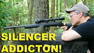 Silencer Addiction!  22LR Suppressor as a Gateway Drug