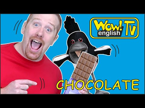 Chocolate Yummy Tummy Story From Steve And Maggie | Wow English TV