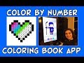 Color By Number App Review | Addicting Coloring Book App