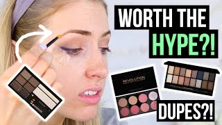 MAKEUP REVOLUTION: Worth The HYPE?! || First Impression Friday