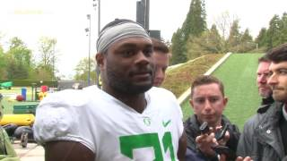 Royce Freeman Talks About Being a Free Agent
