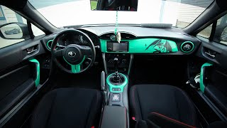 Vinyl Wrapping Interior of the Scion FRS/Toyota GT86 thumbnail