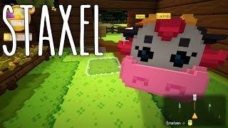 Staxel #04 | Schöne Träume - eine Scheune | Gameplay German Deutsch thumbnail