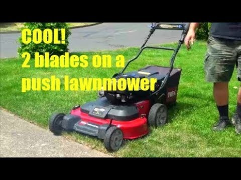 Cool 2 Bladed Lawnmower Toro Timemaster How To Fix And Repair Common Problems Youtube