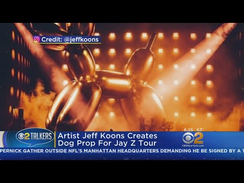 Artist Jeff Koons Creates Dog Prop For Jay Z Tour