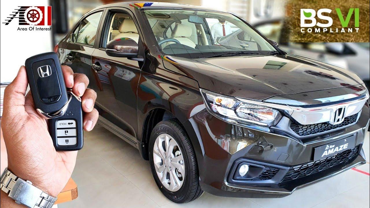 2020 Honda Amaze BS6 CVT Automatic | On Road Price List ...
