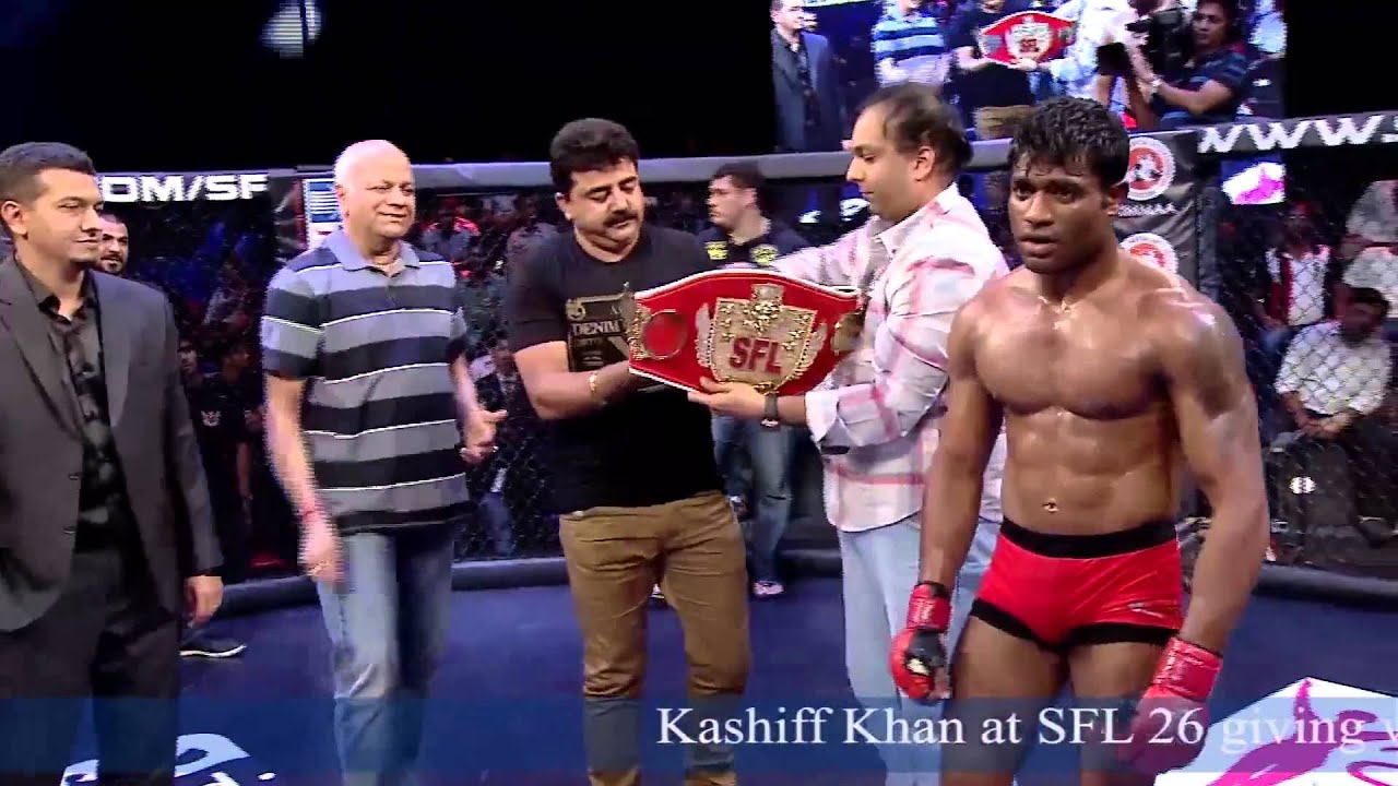 Kashiff Khan Giving a Winning ...