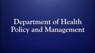Research With Impact: Hopkins' Department of Health Policy and Management
