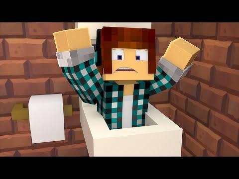 Minecraft: ENTRAMOS NO VASO DO BANHEIRO !! (Aventura Maluca #01)