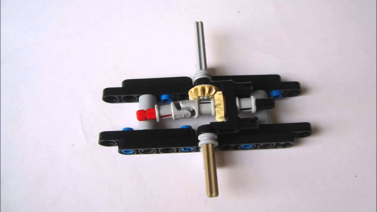 Lego Small Rear Independent Suspension Instruction