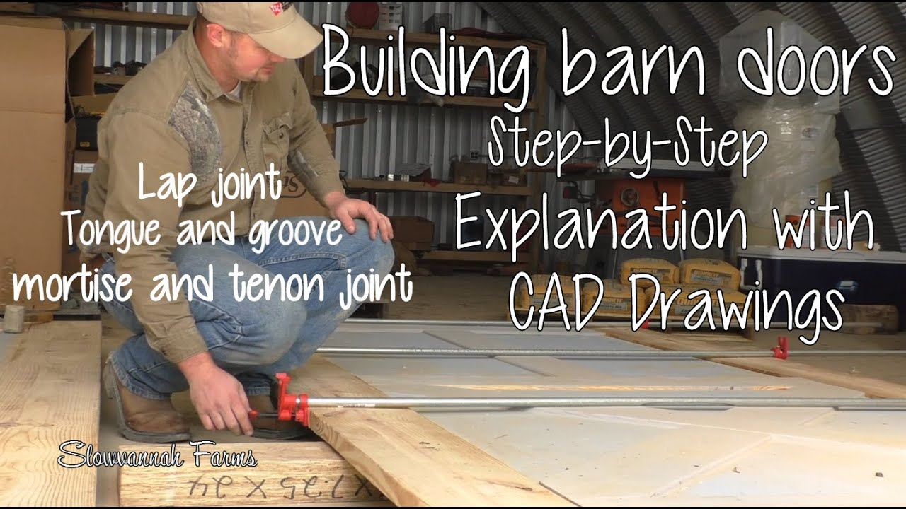 How To Diy Barn Doors 2 Youtube