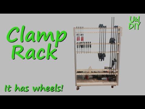 Making a Mobile Clamp Rack - DIY Tutorial