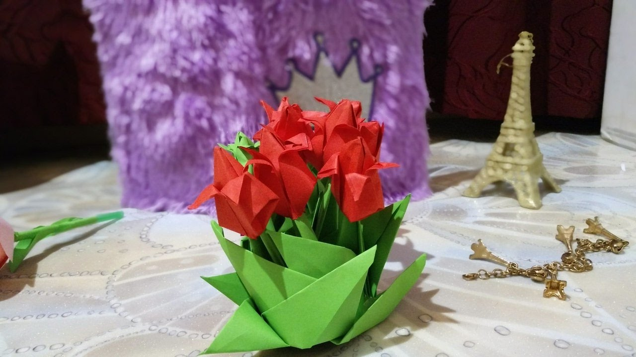Днем рождения, оригами 8 марта открытки