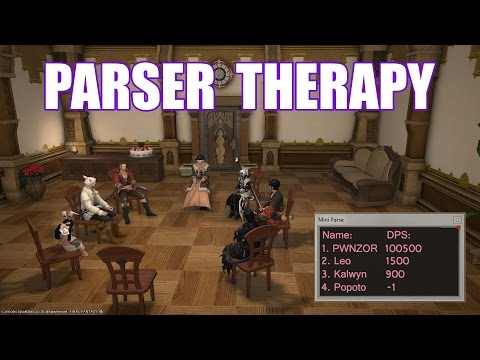 Parser Group Therapy [FFXIV Funny Machinima]
