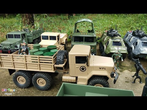 Military transport vehicles RC Trucks Toy soldiers & Military Equipment