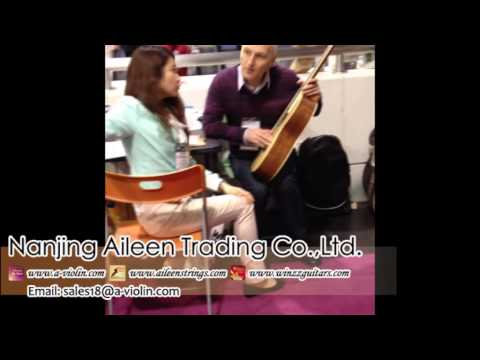 [Aileen Music-Best Guitar Supplier] at 2013 NAMM Show