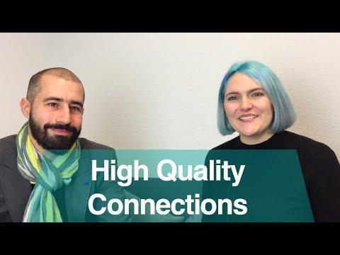 High Quality Connections mit Teamwork & Leadership Trainer Edoardo Binda Zane