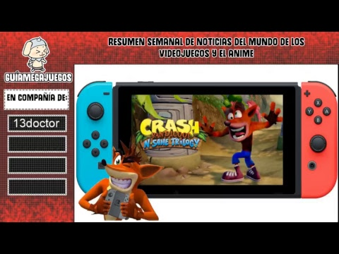 Noticias Crash Bandicoot N-Sane en Switch The Division 2 Call Of Duty Black Ops 4 Super Smash Bros