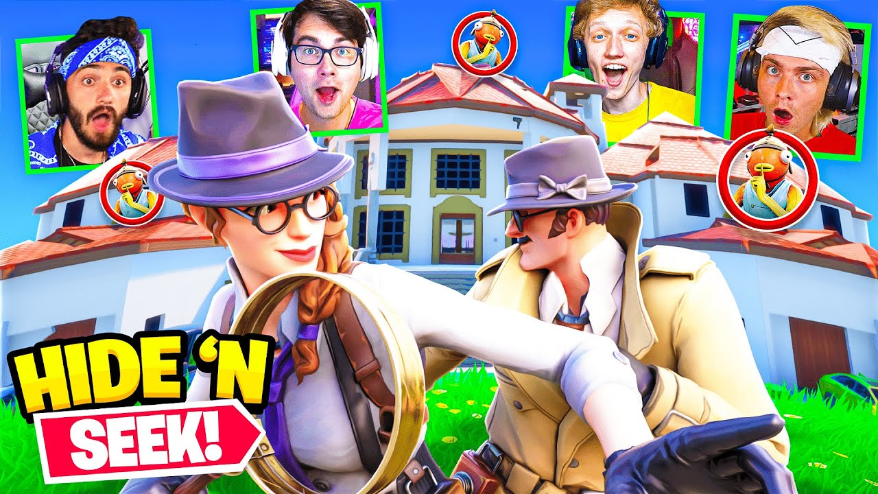 One Percent House HIDE AND SEEK in Fortnite!