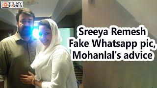 Oppam Actress Sreeya Remesh Fake Whatsapp pic, Mohanlal's Advice - Filmyfocus.com