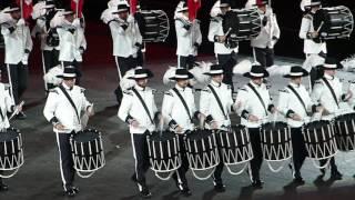 BASEL TATTOO 2016 TOP SECRET Drum Corps 2