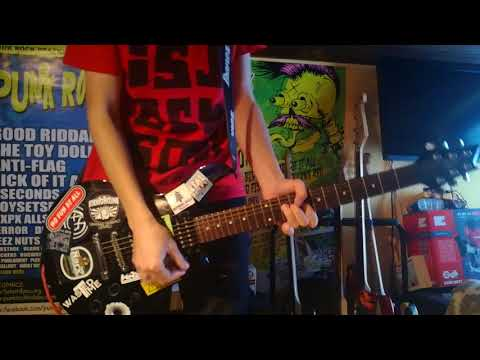 Choking Victim - Suicide GUITAR Cover mp3