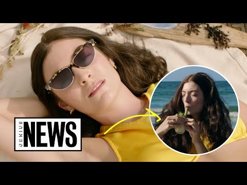 "Lorde's ""Solar Power"" Explained | Genius News"