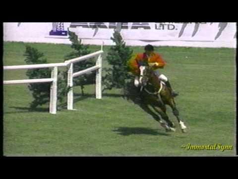 Rio Grande TROTS a Grand Prix Jump!